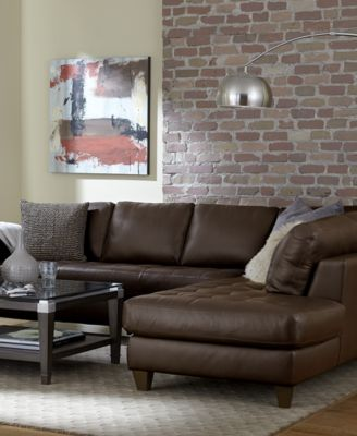 Milano Leather Living Room Furniture Sets & Pieces