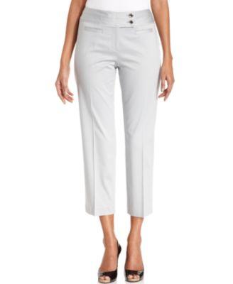Style&co. Pants, Straight-Leg Capri