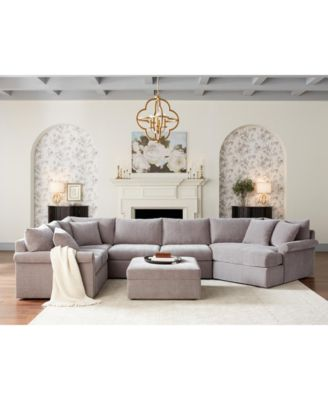 furniture wedport fabric sectional sofa collection reviews furniture macy s