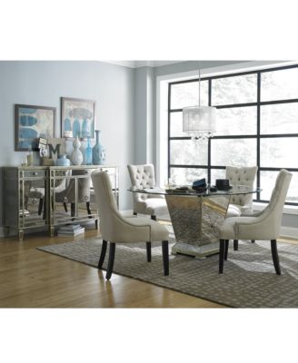 Furniture Marais Dining Room Furniture. 7 Piece Set (60