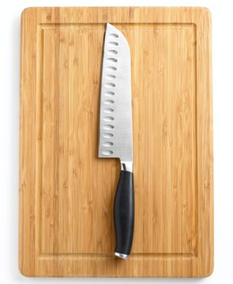 Martha Stewart Santoku knife and cutting board