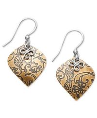 Jody Coyote Bronze Earrings, Teardrop Earrings - Earrings ...