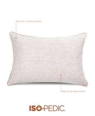 luxury knit copper infused pillow