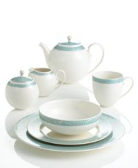 Monsoon Dinnerware Collection by Denby, Lucille Teal ...