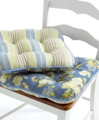 Waverly Chair Cushions, Paddock Shawl Collection - Table ...