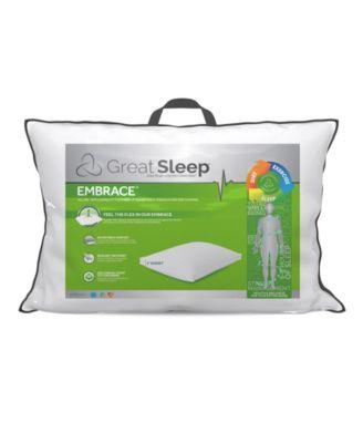 suprelle flex fiber 2 gusset standard queen pillow