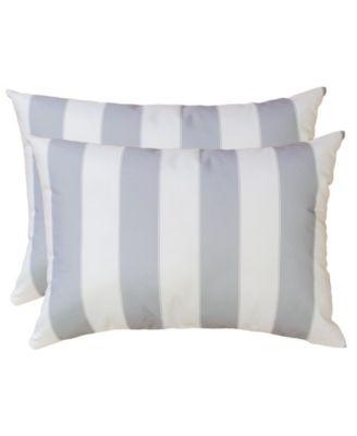 olivia stripe outdoor pillow set of 2
