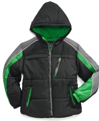 Protection System Boys' Colorblocked Performance Puffer Jacket