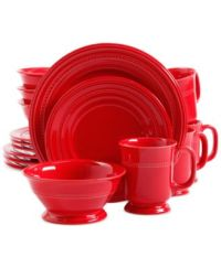 European style casual dinnerware with authentic old world ...