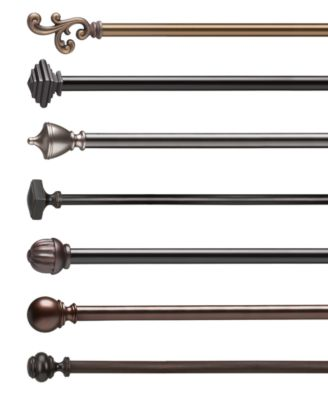 Umbra Umbra Diverge Double Curtain Rods  Bed in a Bag
