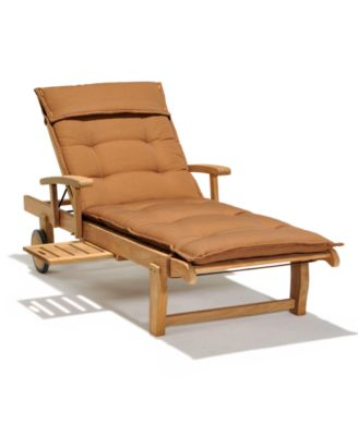 bristol teak outdoor chaise lounge created for macy s