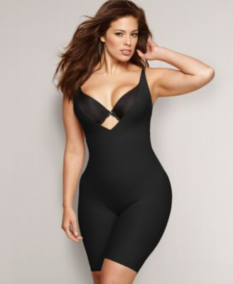 Flexees by Maidenform Plus Size Shapewear, Wear Your Own Bra Firm Control Singlet