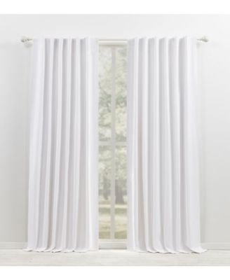 waller blackout solid tab rod pocket curtain panel collection