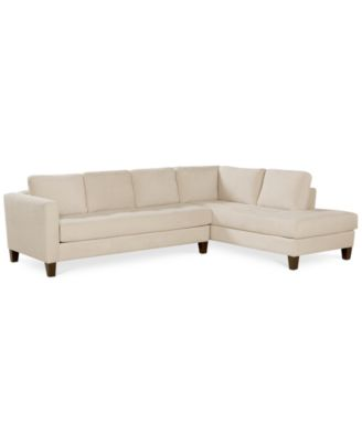 martino leather chaise sectional sofa 2 piece apartment and montauk prices rylee fabric living room furniture sets