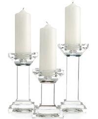 Lighting by Design Candle Holders, Set of 3 Metropolitan ...