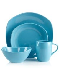 CLOSEOUT! Dansk Dinnerware, Classic Fjord Sky Blue ...