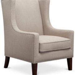 Martha Stewart Saybridge Sofa Tufted Leather Set Collection Living Room Chair, ...