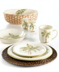 Gibson Palm Court Dinnerware Collection - Fine China - Macy's