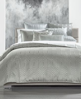 Art Deco Comforter : comforter, Hotel, Collection, Lithos, Bedding, Collection,, Created, Macy's, Reviews, Collections