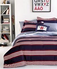 Tommy Hilfiger Bedding, Kempton Comforter Sets - Bedding ...