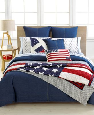 Closeout tommy hilfiger denim bedding collection bedding