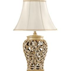 Kitchen Essentials By Calphalon Square Tables Stylecraft Open-lace Scroll Table Lamp - Lighting & Lamps ...