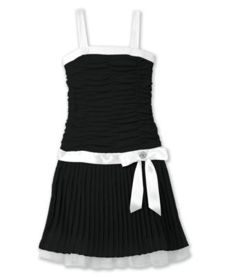 BCX Girls Pleated Dress