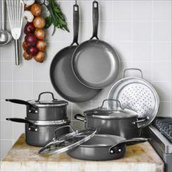 Macy's Kitchen Sets Burgundy Decor Greenpan New York Pro 11 Pc Ceramic Non Stick Cookware Set Created Main Image