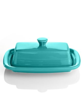 Fiesta Turquoise XL Covered Butter Dish Serveware Dining Amp Entertaining Macys