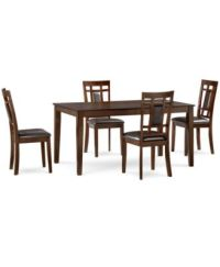 CLOSEOUT! Delran 5-Piece Dining Room Furniture Set ...
