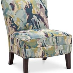 Bedroom Chair With Skirt Electric Barber Chairs Macy S Coryn Fabric Accent Quick Ship