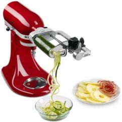 Kitchen Aid Pasta Bronze Faucets Kitchenaid Attachment Shop Maker Online Macy S Ksm1apc Spiralizer Stand Mixer
