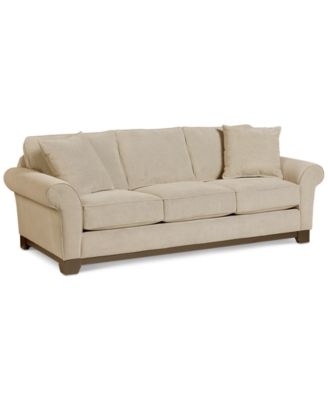 roll arm sofa canada pictures of sofas with decorative pillows couches macy s medland 89 fabric 2 created for