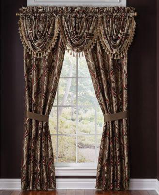 Croscill Bradney 48 x 33 Window Valance  Bedding