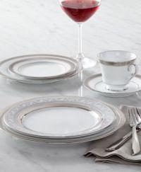 Noritake Dinnerware, Crestwood Platinum Collection - Fine ...