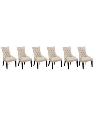 parson chairs cheap amish folding adirondack chair plans furniture marais dining parsons set of 6 macy s