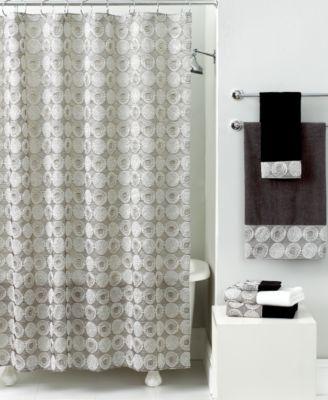 Avanti Bath Accessories Galaxy Shower Curtain Bathroom Accessories Bed Amp Bath Macys