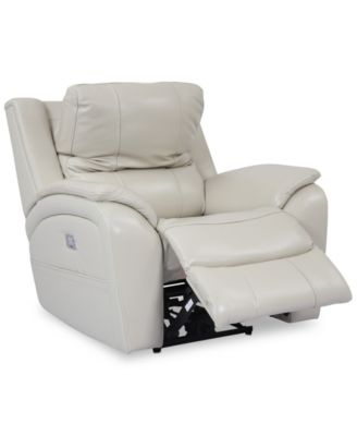 leather recliner chairs a chair and recliners macy s karuse power with headrest usb outlet