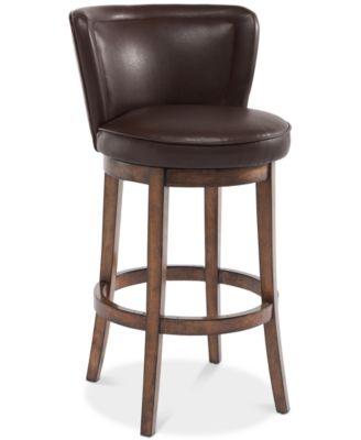 macy stool chair grey eames dining replica furniture closeout lisbon 30 swivel bar quick ship main image