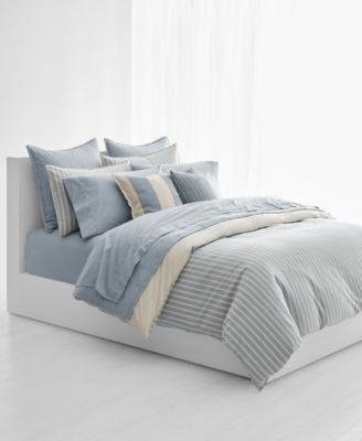 Lauren Ralph Lauren Graydon Bold Stripe Bedding Collection Bedding Collections Bed Amp Bath