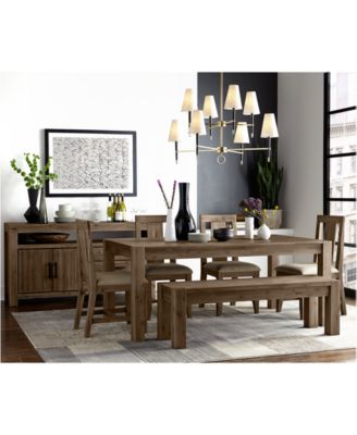 macy's kitchen sets office appliances dining room furniture macy s canyon collection created for