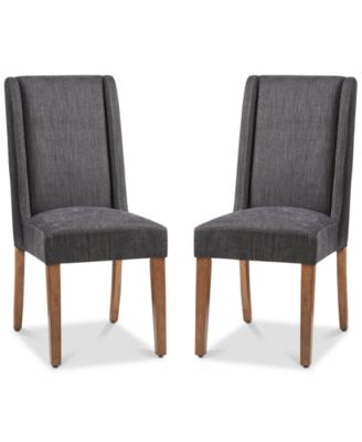 chairs for kitchen install backsplash macy s bryson dining chair set of 2 quick ship