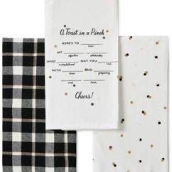 Kate Spade Kitchen Renovations New York 3 Pc Toast In A Pinch Towel Set Main Image