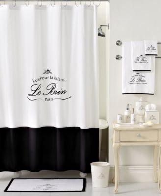 Kassatex Bath Accessories Le Bain Shower Curtain Bathroom Accessories Bed Amp Bath Macys