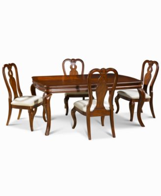 macy's kitchen sets replacement doors furniture bordeaux 5 piece dining room set created for main image