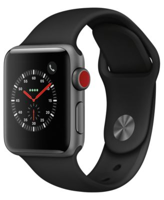 Apple Watch Series 3 Gps Cellular 38mm Space Gray