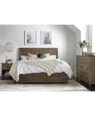 Furniture Canyon Platform Bedroom Furniture 3 Piece Bedroom Set Created For Macy S King Bed Dresser And Nightstand Reviews Furniture Macy S