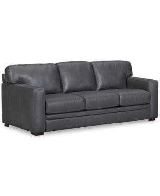 Furniture Avenell Leather Sectional and Sofa Collection