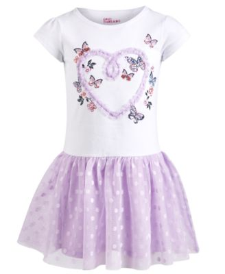 Epic threads little girls butterfly mesh dress created for macy   also kids clothing rh macys