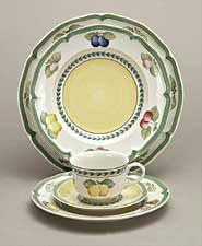Villeroy & Boch Dinnerware, French Garden Dinner Plate ...